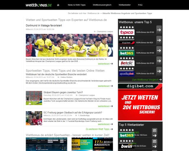 wettbonus net