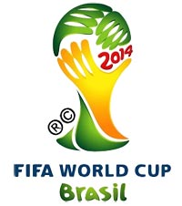 Fussball WM 2014 in Brasilien