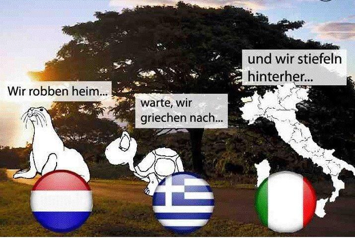 wie steht es beim fußball deutschland gegen italien